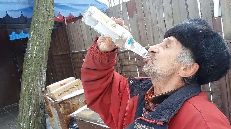 Дед чуть не умер выпив 3 бутылки ВОДКИ