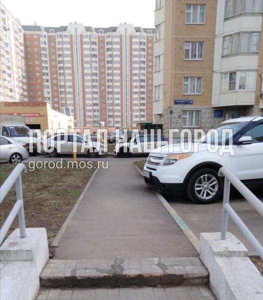 Специалисты отремонтировали лестницу на участке Рождественской улицы