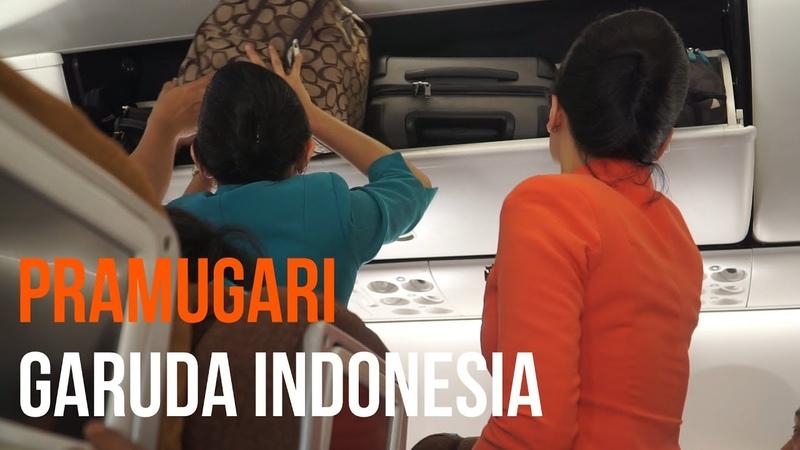 LUAR BIASA TUGAS PRAMUGARI CANTIK GARUDA INDONESIA
