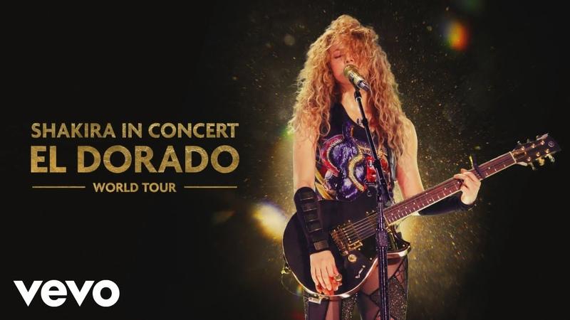 Shakira Carlos Vives La Bicicleta Audio El Dorado World Tour Live