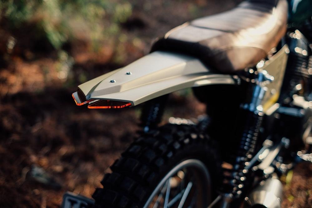 Urban Mechanics: скрэмблер Honda CB250 Nighthawk