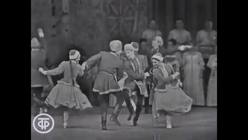 Концерт посвящённый 53 й годовщине Октября Хор им Пятницкого Зимушка 1970