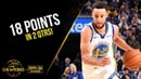 Stephen Curry Full Highlights 2019.10.05 Warriors vs Lakers - 18 Pts in 2 Quarters! | FreeDawkins