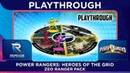 Power Rangers Heroes Of The Grid Playthrough ft Zeo Red Zeo Pink and Zeo Yellow Rangers