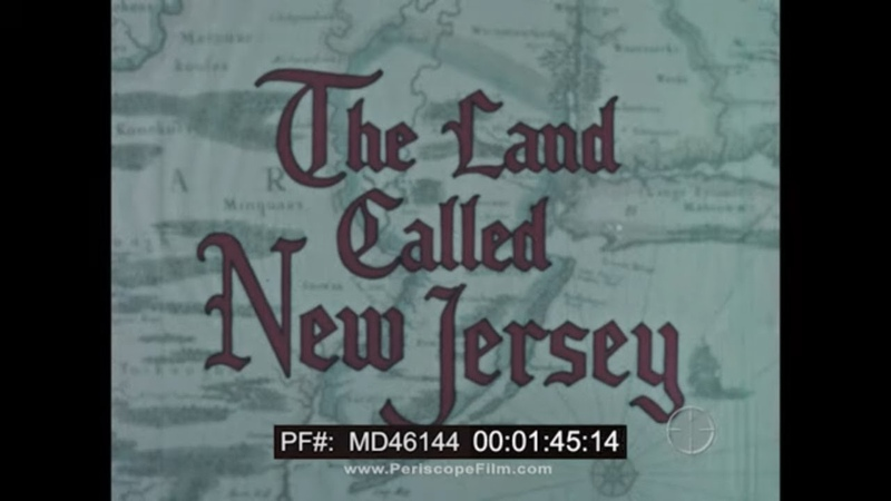 HISTORY OF THE STATE OF NEW JERSEY 1960s HUMBLE OIL PROMOTIONAL FILM MD46144