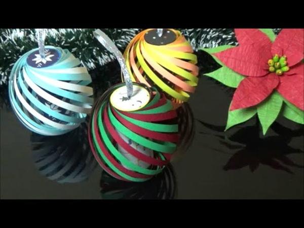 画用紙 クリスマスの飾り トイレットペーパーの芯で卵の形の可 24859