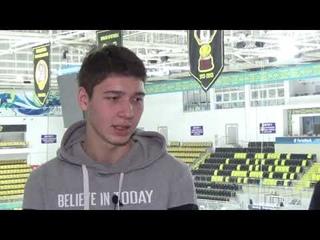 Интервью с молодым воспитанником карагандинской школы хоккея
