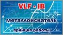 Принцип работы VLF металлоискателя