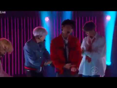 171130 BTS DNA on Late Late Show with James Corden