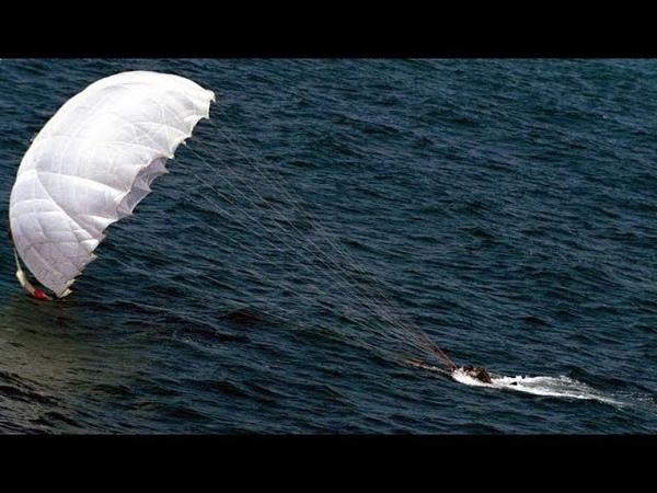 Неудачное приземление с парашютом 11 ОДШБР АРМИЯ РОССИИ