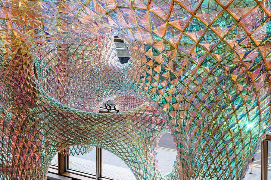 Sparkling Ceiling Installation