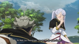 Noelle thinks Asta proposes her when he proposed to Sister Lily - Black Clover
