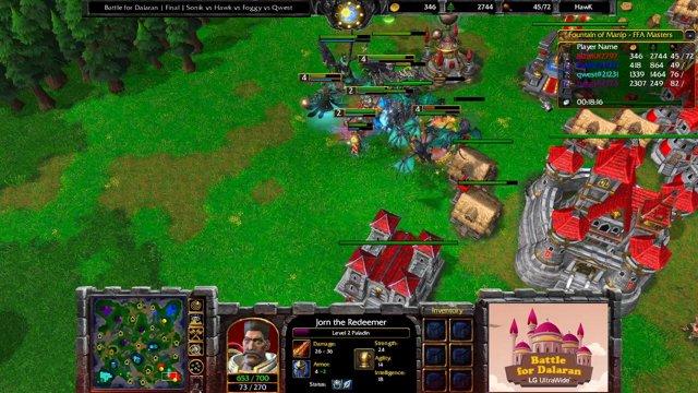 Battle for Dalaran Final Sonik vs Hawk vs Foggy vs Qwest