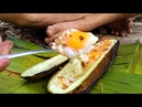 Chicken Egg Cooked in Wax Gourd, Strange and delicious food | Cooking style dust