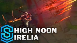 High Noon Irelia Skin Spotlight - Pre-Release - League of Legends