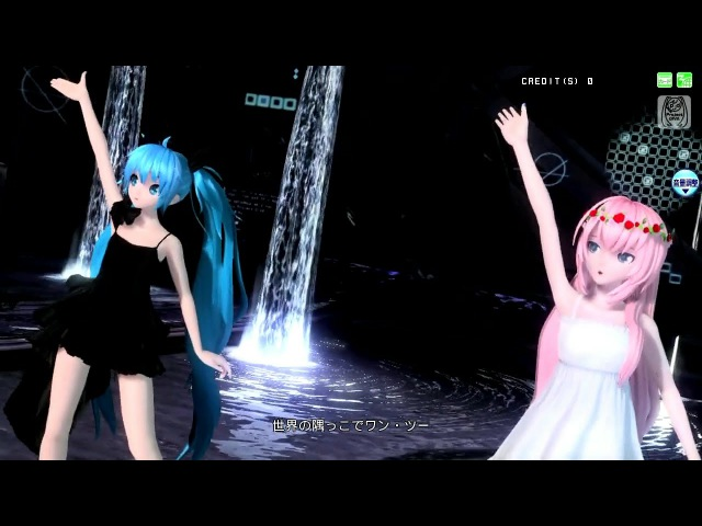 【Project DIVA Arcade】ワールズエンド・ダンスホール -Live Dance Edition-【PV/720p】【初音ミク_深海