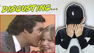 Creepy Game Show Host Likes Kissing Little Girls Reaction