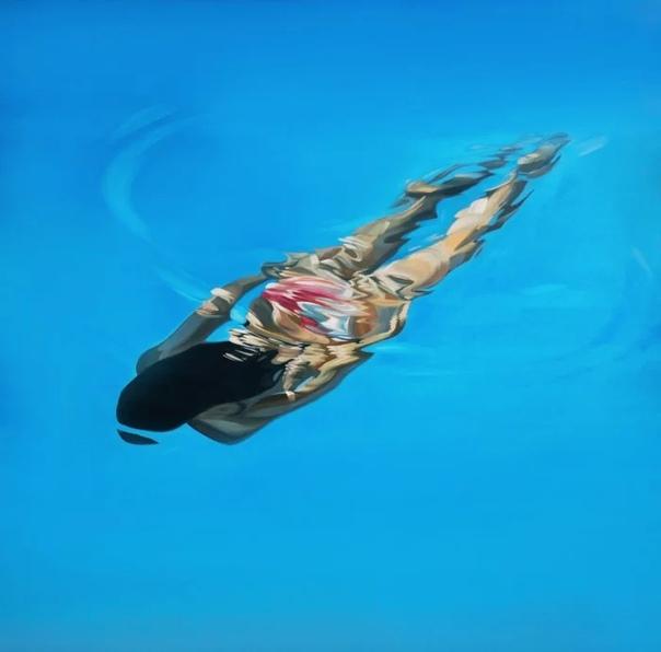 Вода побуждала к творчеству многих живописцев прошлого, и остаётся неисчерпаемым источником вдохновения для современных художников Она также очаровала Бенджамина Андерсона, хотя его и нельзя