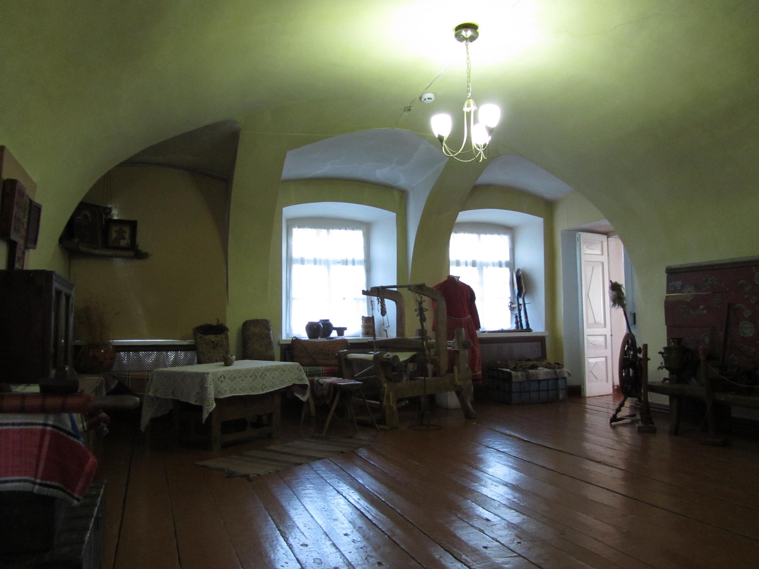 В старинном музее в Усолье