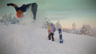 AlexandeR Rusinov / Snowboarding part 1