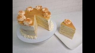 торт ЗОЛОТАЯ МОЛОЧНАЯ ДЕВОЧКА! самый нежный! ЛУЧШИЙ рецепт из Германии от Торты и Кулинария !