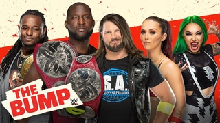 AJ Styles & Omos, Shotzi & Nox and Reginald join the show: WWE's The Bump, July 28, 2021