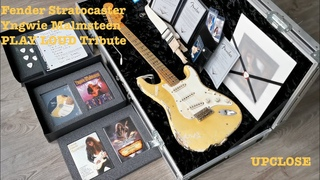 In Detail: Fender Stratocaster Yngwie Malmsteen 'PLAY LOUD' Sound Custom Shop Tribute Guitar