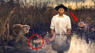 Застав любовницу в родовой горячке, отец отнес младенца на болото, а когда наутро мать спохватилась
