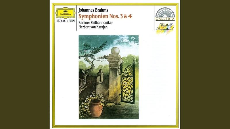 Brahms: Symphony No.3 In F Op.90 4. Allegro