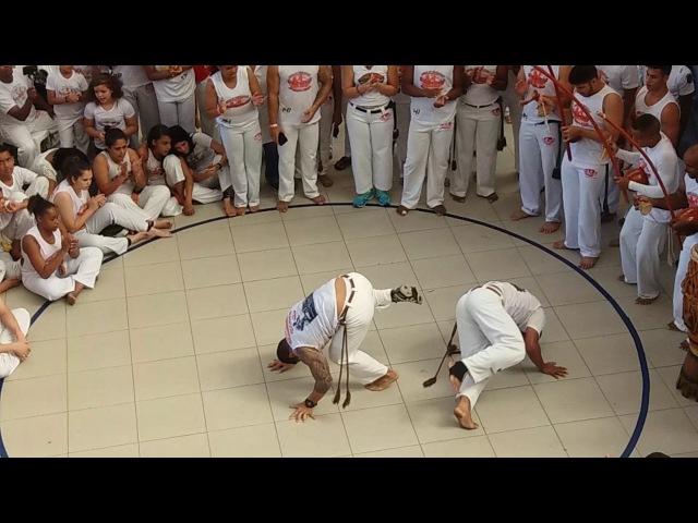 Jogos de Verão Abadá Capoeira 2017. Algodão RJ x Bam Bam MG
