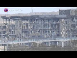 Эксклюзивные кадры. Обстрел Свято-Иверского монастыря зажигательными снарядами с позиций ВСУ