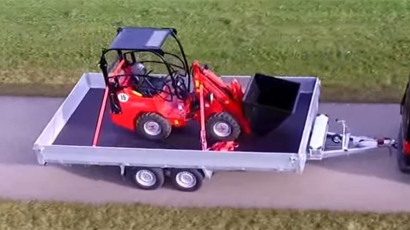 Serie PL-T, Pkw Plattform Anhänger von SIGG Fahrzeugbau