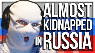 WE ALMOST GOT KIDNAPPED IN RUSSIA BY A CRAZY TAXI DRIVER