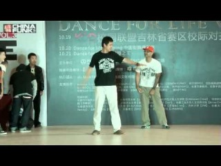 Judge Showcase | Jr Boogaloo With The Poppers | Changchun D4L3