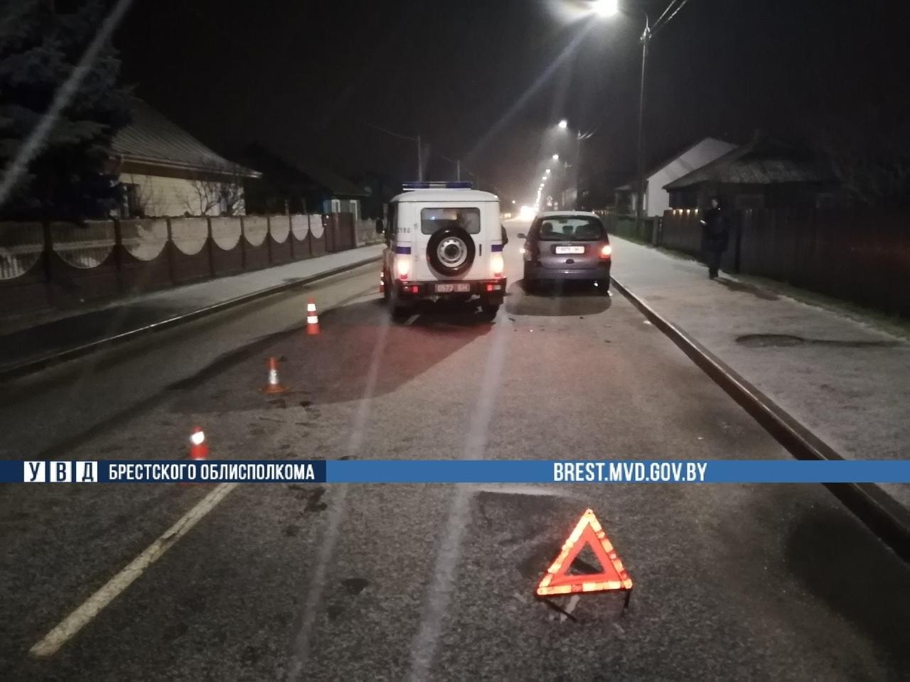 В Дрогичине произошло ДТП с участием служебного автомобиля