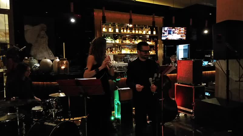New York New York Группа Авеню бит в ресторане Марани