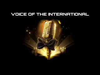 Voice of The International Announcer Pack - DOTA 2 TI10