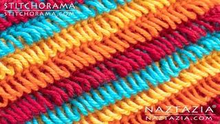 How to Crochet the Loop Stitch - Stitchorama by Naztazia