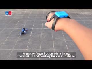 Машинка перевертыш управляемая жестами Hyper RC Stunt Cars
