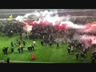 Шведский АИК празднует первое чемпионство за 9 лет