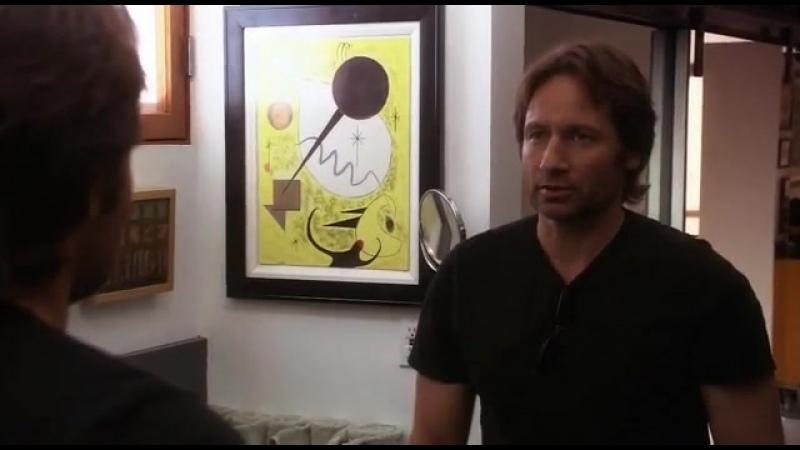 Отрывок из сериала Блудливая Калифорния Поднятие самооценки от Дэвида Духовны