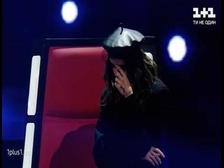 """На """"Голосі країни"""" Надя Дорофеева сделала сложный выбор, но не смогла сдержать слез."""