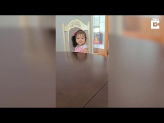 [Caters Clips] Little Girl Fails At Saying The Word 'Banana'