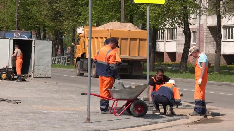 В Йошкар Оле продолжается ремонт улицы Пролетарской