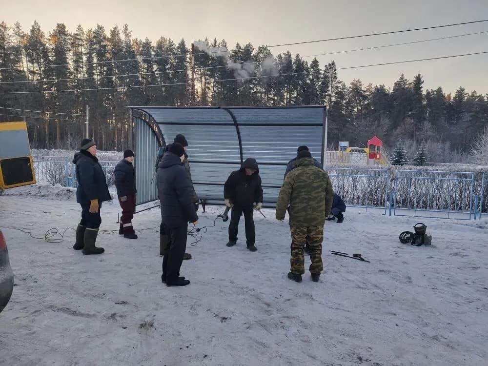 """Около физкультурно-оздоровительного комплекса """"Газовик"""" будет останавливаться общественный транспорт Петровска"""