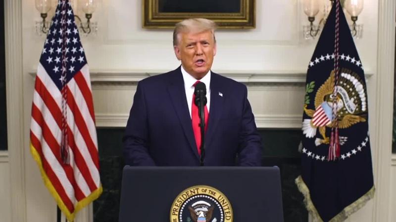 Трамп срочно обратился к нации Возможно это самая важная речь которую я когда либо произносил
