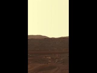 Панорама Марса.