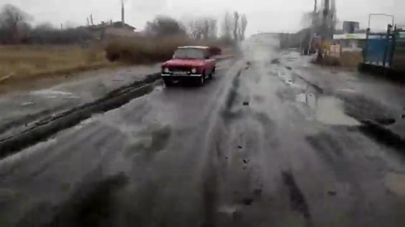 Дорога на Славкурорте - 28.02.2017