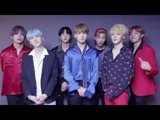 170918 BTS Message for Spotify Singapore