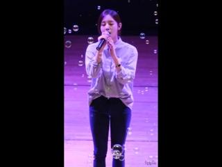 "Fancam | 150224 | Park Boram - ""The Year Go"" | Baekseok University."